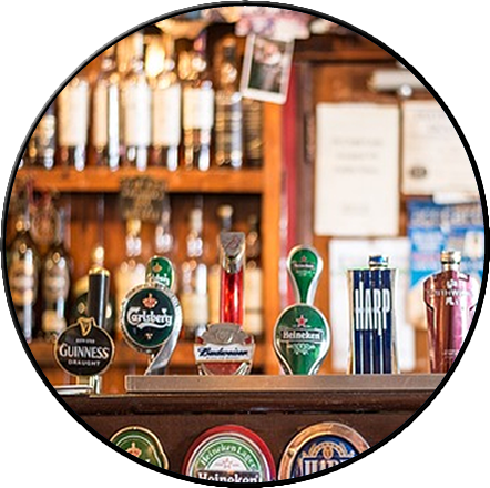 Licenced trade, pubs, alcohol, drinks, beer, wine, shelfstock